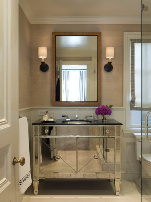 mirrored vanity iron and silver 42-505x675