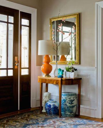 Orange Lamp Katie Rosenfeld Design